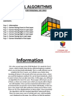 f2l algorithms- pdf