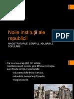 Noile Instituții Ale Republicii