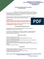 Manual Mantenimiento Preventivo Grupos Electrogenos