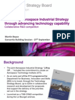 Delivering Aerospace Industrial Strategy Through Advancing Technology Capability - Consortia Building Session
