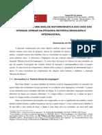 Calúnia e Injúria - Uma Análise Historiografica
