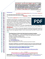 20140816-G. H. Schorel-Hlavka O.W.B. to Submissions to the Financial System Inquiry-SUPPLEMENT 6