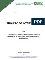 Projeto de Intervenção - PDF