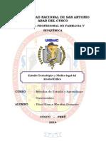 Monografia de Estudio Toxicológico y Médico Legal Del Alcohol Etílico 1