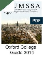 OUMSSA College Guide 2014