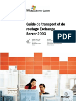 Exchange server 2003 transport and routing guide_FRN_V2