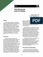 Blast Design of Steel Structures