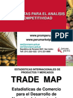 Trade Map y Product Map ACTUALIZADO