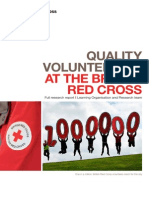 Quality volunteering at the British Red Cross