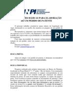 Apostila Sobre Pedido de Patente (INPI)
