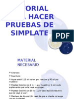 TUTORIAL PARA PRUEBAS DE SIMPLATE
