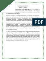 Aspectos Fundamentales Ley 6 de 2002 Yoli Gaviria