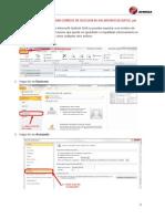 Respaldar Correos de Outlook en Un Archivo de Datos