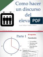 3. Discurso Del Elevador