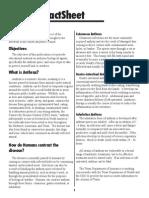 Anthrax FactSheet