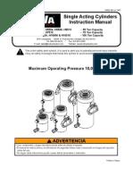 BVA H Series Manual 55 & 100 Ton Models