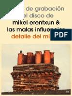 20100323 DDM Diario de Grabacion Mikel Erentxun