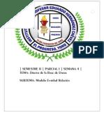 Diseño de La Base de Datos - Modelo Entidad Relacion