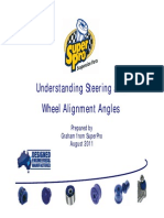Wheelalign Angles