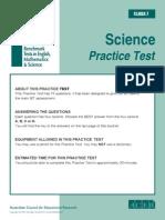 IBT (International Benchmark Test)Sample Paper Grade 7 Science