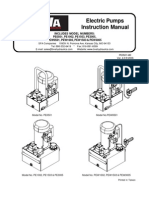 BVA PE PEW Series Manual