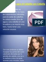 Tratamientos Para El Cabello Con Cebolla b _ a11