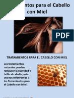Tratamientos Para El Cabello Con Miel