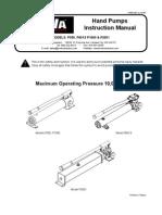 BVA P Series Manual Single Alum