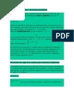 Funciones Explícitas y Funciones Implícitas