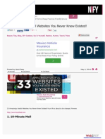 33 Amazingly Useful Websites