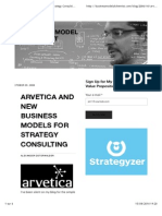 Arvetica and New Business Models for Strategy Consulting — Business Model Alchemist