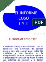 1. COSO I Y II Objetivos Del C.I. Administracion de Riesgos