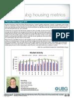 Phoenix Arizona Housing Report August 2014
