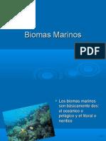 Biomas Marinos