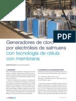 Procesos y Sistemas Generadores Cloro Electrolisis Salmuera Tecnoaqua Es