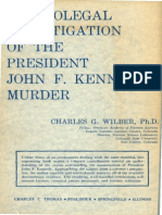 Medicolegal Investigation of ohn F. Kennedy Murder by Charles Wilber (1978)_2