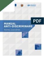 Manual Anti-Discriminare Pentru Judecatori