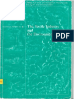 The Textile Industry and the Environment