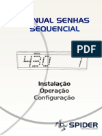 Manual de Senhas Sequencial