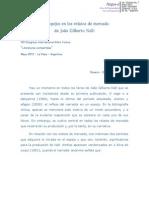 Los Espejos en Los Relatos de Mercado de Joao Gilberto Noll