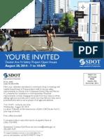 DexterAveN OpenHouse Flyer