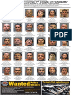 Most wanted property crime offenders, July 2014