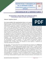 M12. Perspectivas y Desarrollos de La Hipnosis Clínica