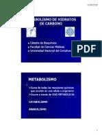 Intro a Metabolismod e HC