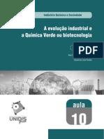 A Evolução Industrial e Aquimica Verde Ou Biotecnologia