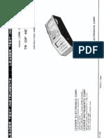 Leader tr dip meter LDM-815 instruction manual