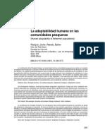Adaptabilidad Humana en Comunidades Pesqueras- Javier Roaique