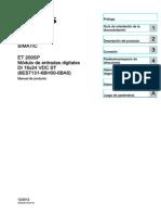 Et200sp Di 16x24vdc St Manual Es-ES Es-ES