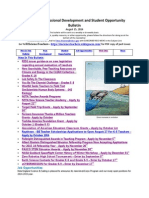 RI Science Professional Development and Student Opportunity Bulletin 8-15-14a