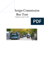 Madison Urban Design Commission Bus Tour 081314